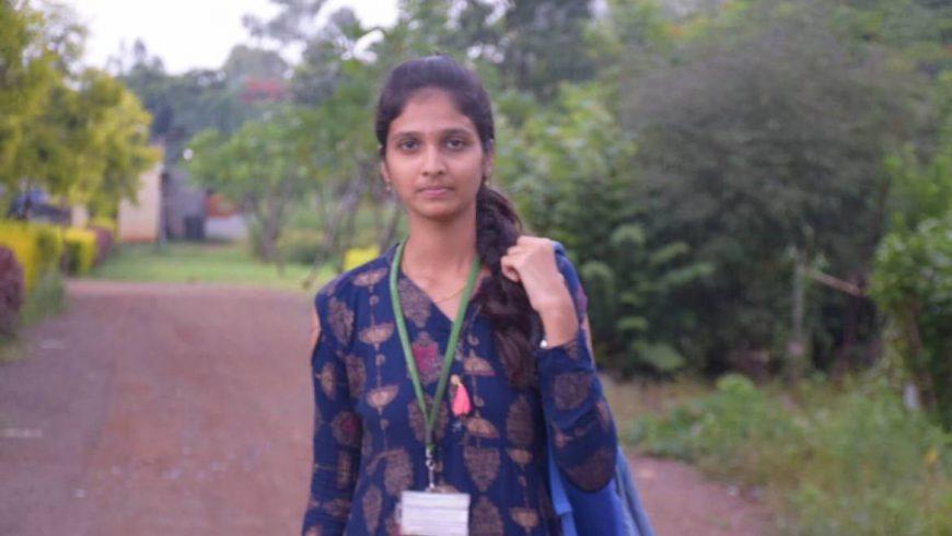 Y.Twinkle From Andhra Pradesh Tells Her Story – B.Sc Agri Student, RTU